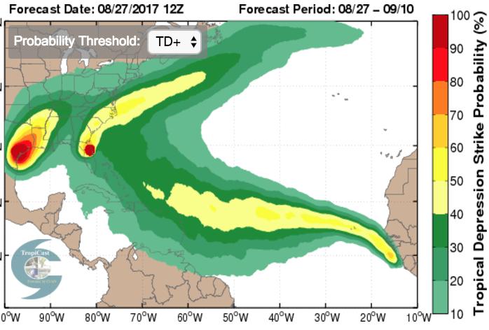 Hurricane Harvey: long-range forecasts | Climate Etc