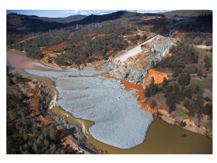 The Oroville Dam 2017 Spillway Incident – Possible Causes